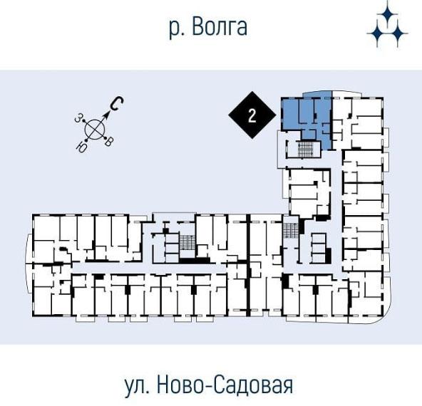 План дома ЖК Галактика Самара