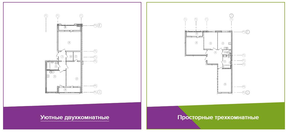 Квартиры2 ЖК Галактика СПб