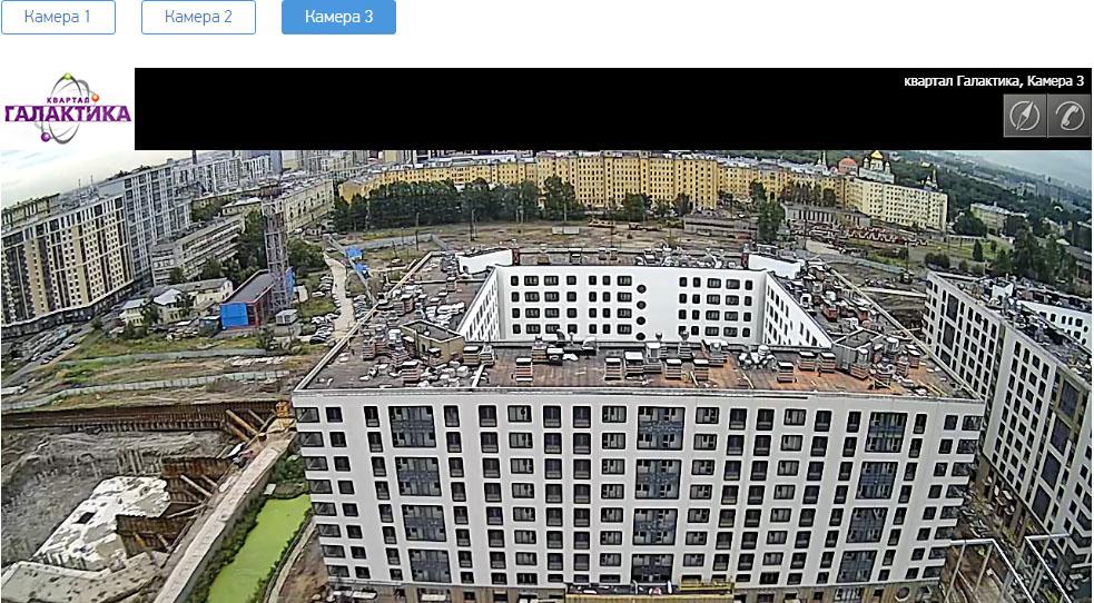 ЖК Галактика СПб с веб-камеры